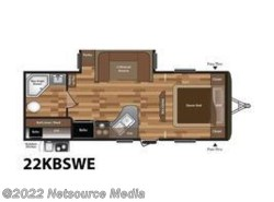 New 2017  Keystone Hideout 22KBSWE by Keystone from U-Neek RV Center in Kelso, WA