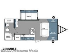 New 2017  Forest River Surveyor Couples Coach 200MBLE by Forest River from U-Neek RV Center in Kelso, WA