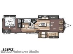 New 2017  Forest River Wildwood Lodge 393FLT by Forest River from U-Neek RV Center in Kelso, WA