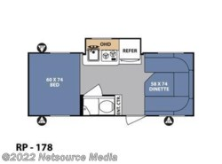 New 2017  Forest River R-Pod RP-178 by Forest River from U-Neek RV Center in Kelso, WA