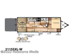 New 2017  Forest River Wildwood 211SSXL-W by Forest River from U-Neek RV Center in Kelso, WA