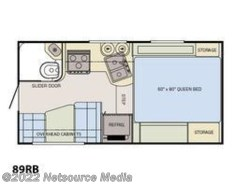 New 2018  Adventurer  89RB by Adventurer from U-Neek RV Center in Kelso, WA