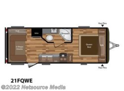New 2018  Keystone Hideout 21FQWE by Keystone from U-Neek RV Center in Kelso, WA