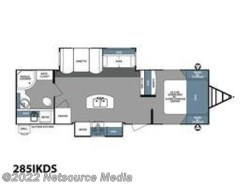 New 2018  Forest River Surveyor Couples Coach 285IKDS by Forest River from U-Neek RV Center in Kelso, WA
