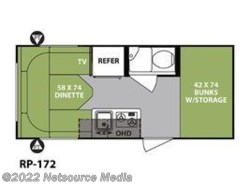 New 2018  Forest River R-Pod RP-172 by Forest River from U-Neek RV Center in Kelso, WA