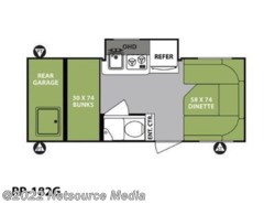 New 2018  Forest River R-Pod Ultra Lite RP-182G by Forest River from U-Neek RV Center in Kelso, WA