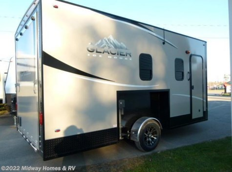 2015 Glacier Ice House T162 Toy Hauler