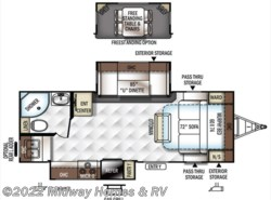 New 2018  Forest River Rockwood Ultra Lite 2304DS by Forest River from Midway Homes & RV in Grand Rapids, MN