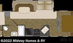 New 2018  Heartland RV Wilderness 3150DS by Heartland RV from Midway Homes & RV in Grand Rapids, MN