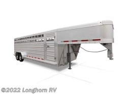 "New 2016  Featherlite  8127 24' w/ 2 Center Gate (102"", 90"", 96"") by Featherlite from Longhorn RV in Mineola, TX"