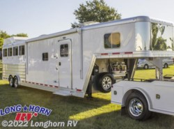 New 2016  Featherlite  9821 Liberty 13' Living Quarters Pkg B 4 Horse by Featherlite from Longhorn RV in Mineola, TX
