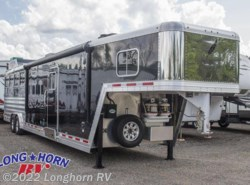 Used 2016  Featherlite  9821 Liberty 15' Living Quarters Pkg B 4 Horse by Featherlite from Longhorn RV in Mineola, TX