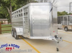 "New 2018  Featherlite  Stock Trailer 8107 - 16 ft. 6'7"" w x 6'6"" h by Featherlite from Longhorn RV in Mineola, TX"