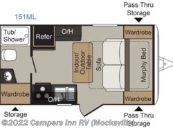 Used 2016  Keystone Passport 151ML Express by Keystone from Campers Inn RV in Mocksville, NC