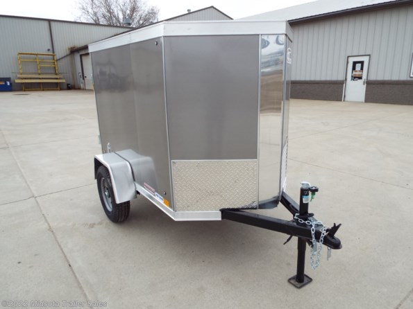 2022 Cross Trailers 4 x 6 SA 4x6 Steel Enclosed Trailer available in Avon, MN