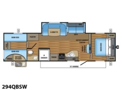 New 2018  Jayco Jay Flight SLX 294QBSW by Jayco from Vogt Family Fun Center  in Fort Worth, TX