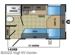 New 2018  Jayco Jay Flight SLX 145RB by Jayco from Vogt RV Center in Ft. Worth, TX