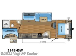 New 2018  Jayco Jay Flight SLX 284BHSW by Jayco from Vogt RV Center in Ft. Worth, TX