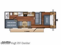 New 2018  Jayco Jay Flight SLX 8 264BH by Jayco from Vogt RV Center in Ft. Worth, TX