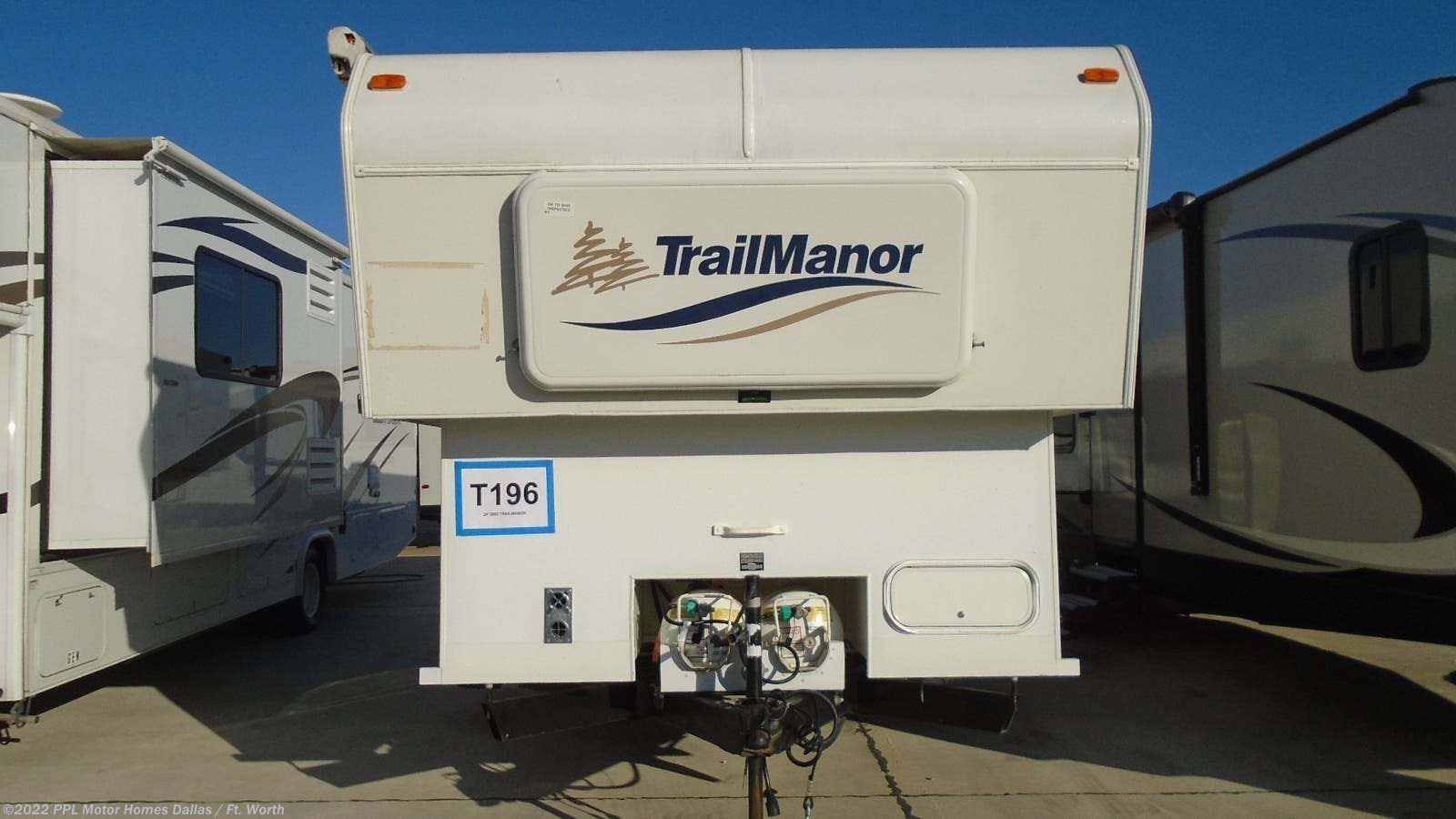 Lp Gas Cooktops For Rv On Sale Now Ppl Motor Homes >> 2002 Trailmanor Rv 2720 For Sale In Cleburne Tx 76033 T196cl