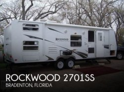Used 2008  Forest River Rockwood 2701SS by Forest River from POP RVs in Sarasota, FL