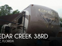 Used 2015  Forest River Cedar Creek 38RD by Forest River from POP RVs in Sarasota, FL