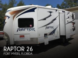 Used 2012  Keystone Raptor 26 by Keystone from POP RVs in Sarasota, FL