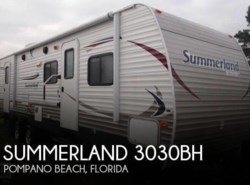 Used 2013  Keystone  Summerland 3030BH by Keystone from POP RVs in Sarasota, FL