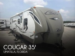 Used 2014  Keystone Cougar 35 Travel Trailer by Keystone from POP RVs in Sarasota, FL
