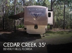 Used 2016 Forest River Cedar Creek 34RL Hathaway edition available in Sarasota, Florida