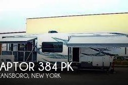 Used 2013  Keystone Raptor 384 pk by Keystone from POP RVs in Sarasota, FL