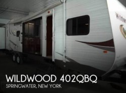 Used 2014  Forest River Wildwood 402QBQ by Forest River from POP RVs in Sarasota, FL