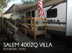 Used 2015  Forest River Salem 4002Q Villa by Forest River from POP RVs in Sarasota, FL