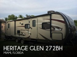 Used 2015  Forest River  Heritage Glen 272BH by Forest River from POP RVs in Sarasota, FL