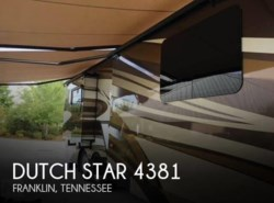 Used 2015 Newmar Dutch Star 4381 available in Franklin, Tennessee