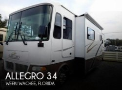 Used 2003  Tiffin Allegro 34 by Tiffin from POP RVs in Sarasota, FL