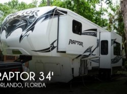 Used 2013  Keystone Raptor 310 Extreme Temperature Package by Keystone from POP RVs in Orlando, FL