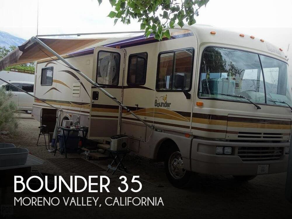 1994 Fleetwood RV Bounder 35 for Sale in Moreno Valley, CA 92551   166347