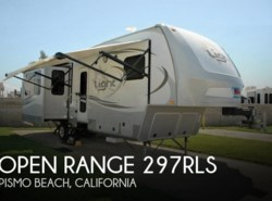 Used 2014 Open Range Open Range 297RLS available in Pismo Beach, California