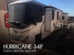 Used 2017  Thor Motor Coach Hurricane 34P