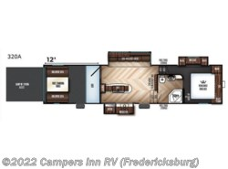 Used 2017  Forest River  FOREST RIVER vengeance 320a by Forest River from Campers Inn RV in Stafford, VA
