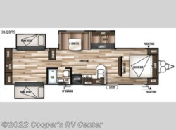 New 2018  Forest River Wildwood 31QBTS by Forest River from Cooper's RV Center in Apollo, PA