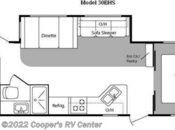 Used 2010  Keystone Hideout 30BHS by Keystone from Cooper's RV Center in Apollo, PA