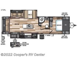 New 2018  Forest River Wildwood Heritage Glen 272RL by Forest River from Cooper's RV Center in Apollo, PA