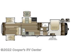 New 2018  Keystone Cougar 366RDS by Keystone from Cooper's RV Center in Apollo, PA