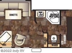New 2017  Forest River Cherokee Grey Wolf 24RK by Forest River from Indy RV in St. George, UT