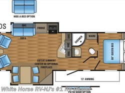 New 2017  Jayco Jay Flight 29RLS Rear Lounge Double Slideout by Jayco from White Horse RV Center in Williamstown, NJ