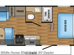 New 2017  Jayco Jay Flight SLX 212QBW Front Queen, Rear Sofa & Dinette by Jayco from White Horse RV Center in Williamstown, NJ