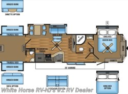 New 2017  Jayco Bungalow 40BHQS 2-Bedroom Quad Slideout by Jayco from White Horse RV Center in Williamstown, NJ