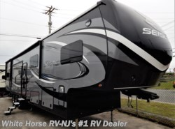 "New 2017  Jayco Seismic 4113 Double Slideout w/12'6"" Garage & Side Deck by Jayco from White Horse RV Center in Williamstown, NJ"